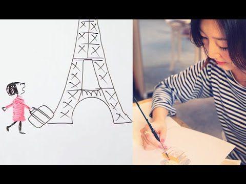 Le draw My Life de Kanako pour My Little Paris - Insolite - My Little Paris