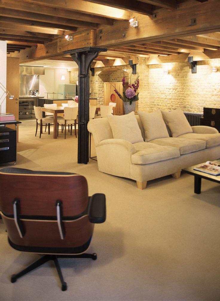 London waterside warehouse apartment