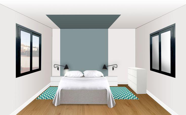 M s de 1000 ideas sobre dormitorios de color turquesa en for Dormitorio turquesa