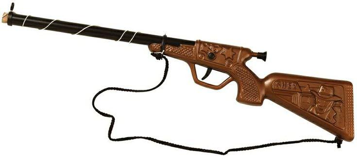 Escopeta que dispara un tapón de corcho.