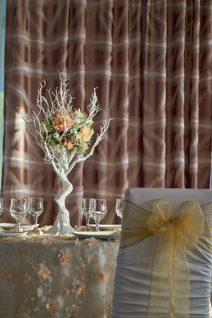 Copăcelul înflorit  #dantela #decor #nunta  #centerpiece