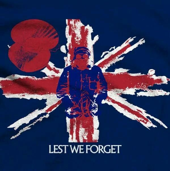 Glasgow rangers i.c.f rememberence pic
