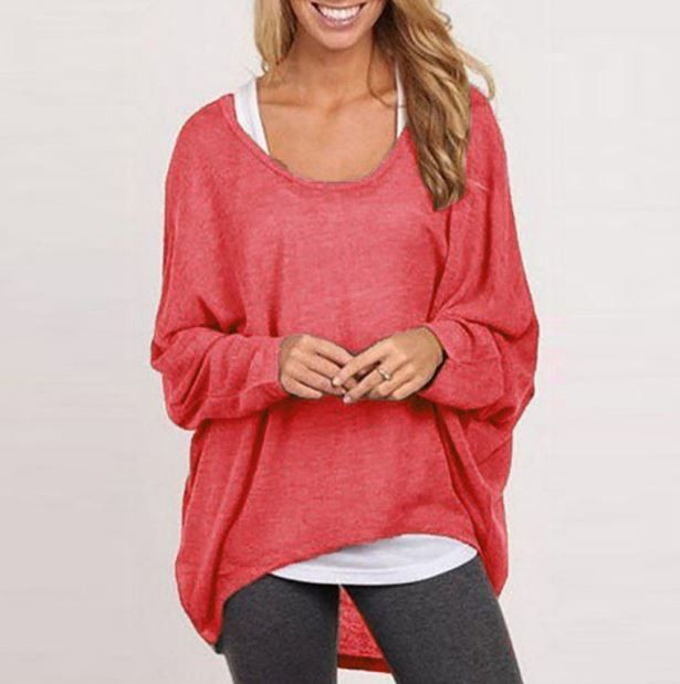 Velký dámský svetr s dlouhým rukávem na podzim – červený – SLEVA 70 % + POŠTOVNÉ ZDARMA Na tento produkt se vztahuje nejen zajímavá sleva, ale také poštovné zdarma! Využij této výhodné nabídky a ušetři …