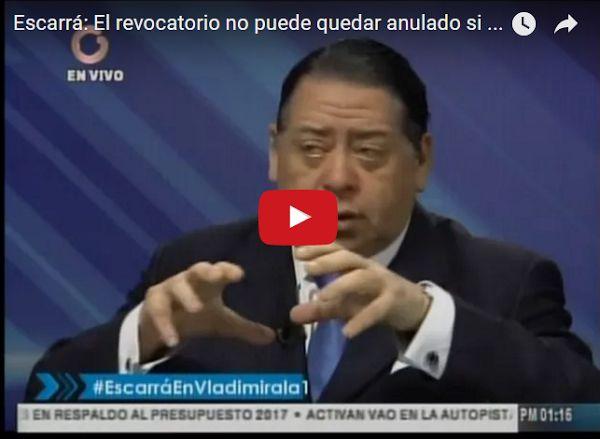 Hermann Escarrá entrevistado por Vladimir Villegas