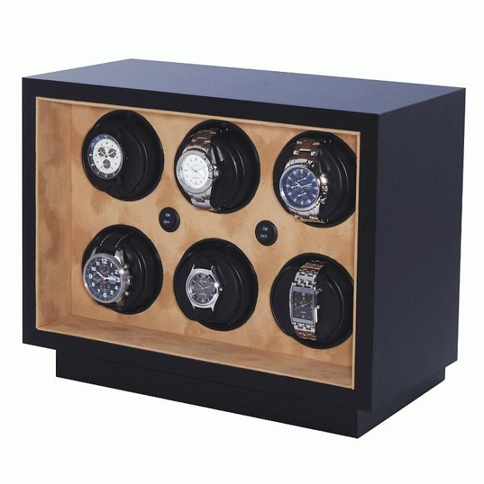 This one is great for in safe or wardrobe 6 Watch Winder by Orbita