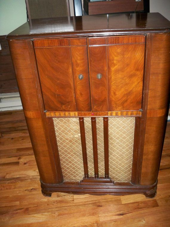 279 best Old Radios - wood images on Pinterest | Antique radio ...