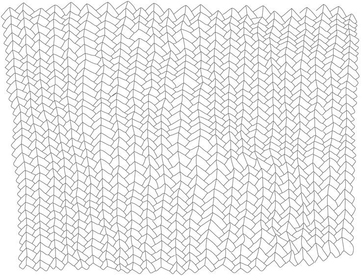 Sarjaton - Letti pattern