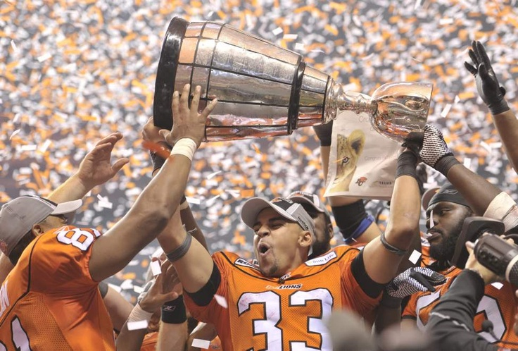 BC Lions 2011 Grey Cup Champs! (Love, Love, Love the Lions!!!!)