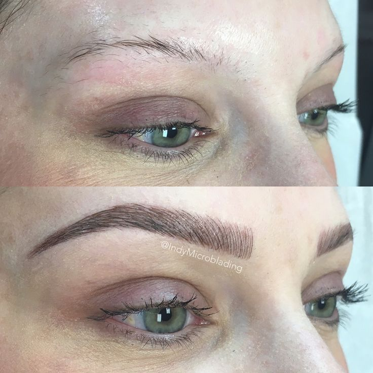 401 best microblading hair stroke feather stroke or 3d for Eyebrow tattoo microblading