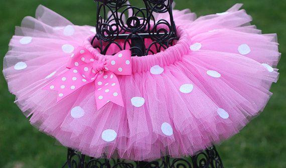 Pink Polka Dot Minnie Tutu Minnie Mouse by TwistinTwirlinTutus