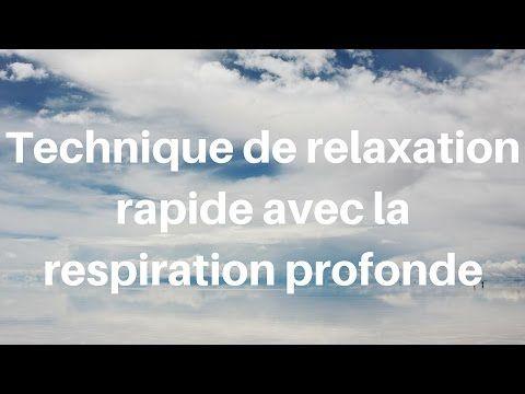 Technique de relaxation rapide avec la respiration profonde - Meditation Easy
