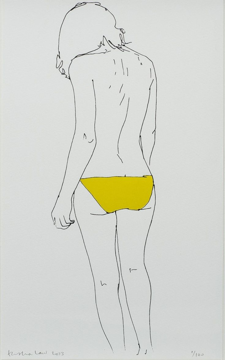 ARTFINDER: Back in Yellow by Natasha Law -