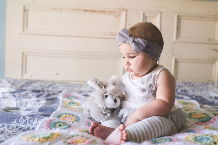 Baby Headband (SET) Bow, Top Knot Headwraps - Grey Green White -  Baby Girl Adult - by EvaandDell on Etsy https://www.etsy.com/listing/250222770/baby-headband-set-bow-top-knot-headwraps