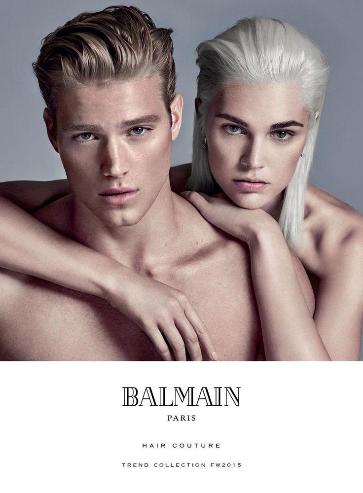 Balmain Hones in on Smart Modern Hairstyles