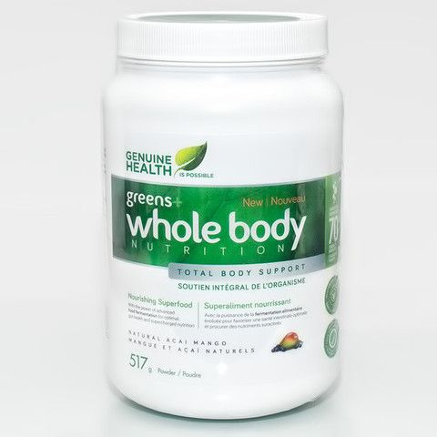 GENUINE HEALTH - Whole Body Greens