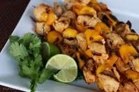 Chili-Lime Mango Chicken Skewers: Mango Chicken, Chilis, Food, Mango Skewers, Chicken Skewers, Limes, Favorite Recipes, Chili Lime Mango