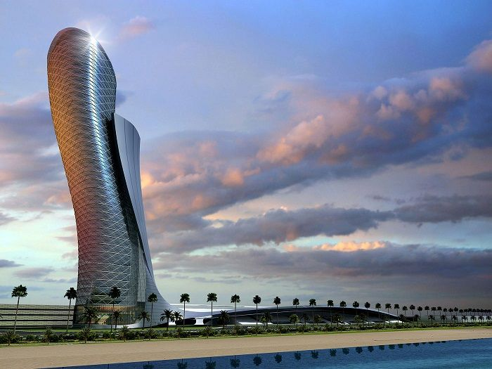Top-10-of-the-Wildest-Hotels-from-Around-the-World-Hyatt-Capital-Gate-Tower Top-10-of-the-Wildest-Hotels-from-Around-the-World-Hyatt-Capital-Gate-Tower
