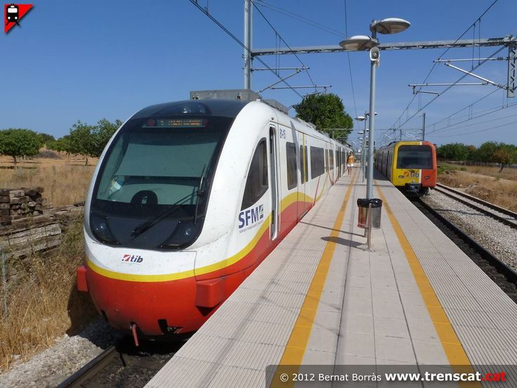 Balearic railways (Spain).