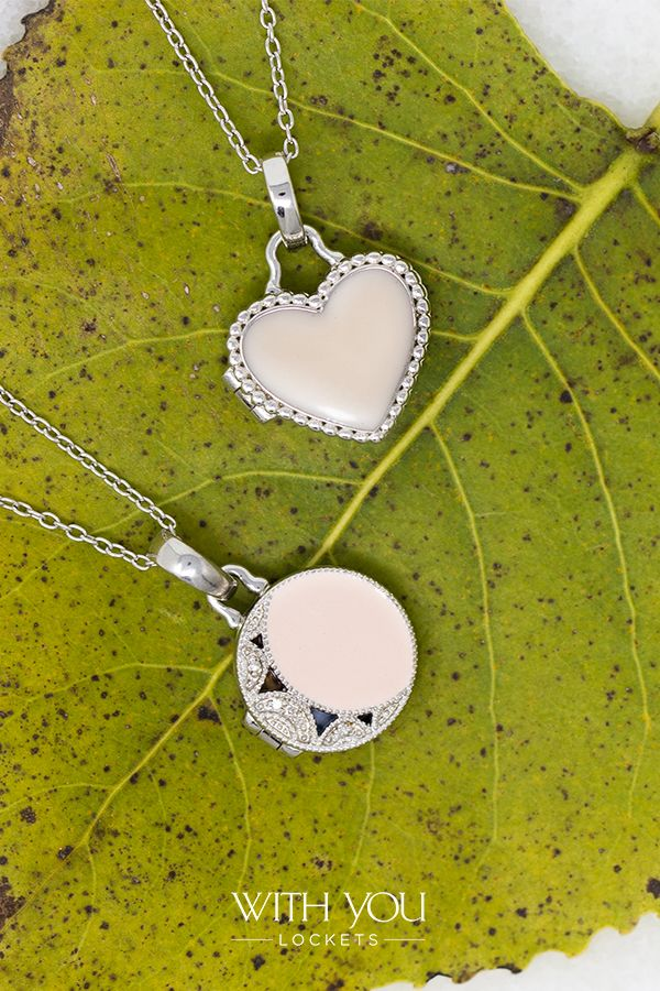 Olivia Locket Necklace In 2020 Locket Necklace Locket Blue Pendant Necklace