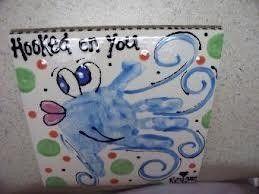 handprint fish, love this