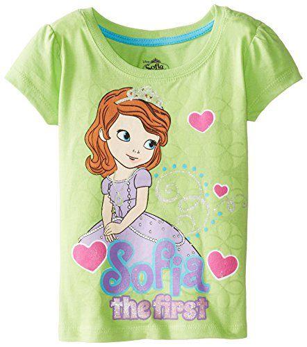 Disney Little Girls' Sofia The First Short Sleeve Tee, Green, 3T Disney http://www.amazon.com/dp/B00HWV3994/ref=cm_sw_r_pi_dp_kz.Qub1JE6FXP
