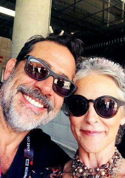Negan and Carol the walking dead