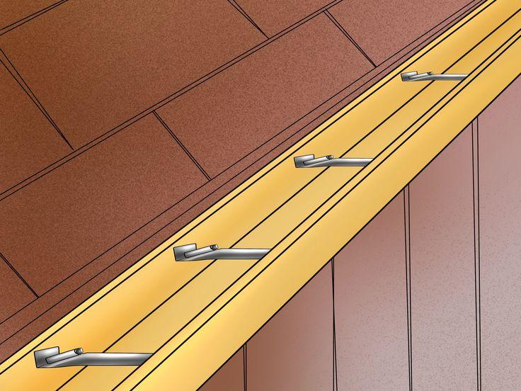 Fix a Sagging Gutter Diy gutters, How to install gutters