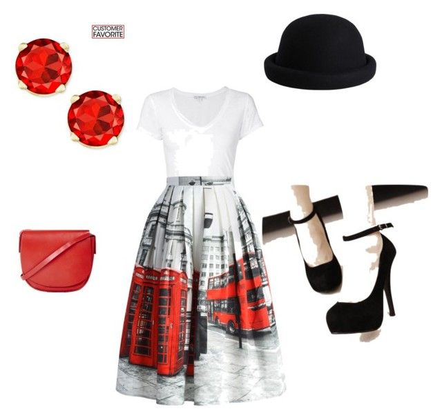 """""""London"""" by lindseytpowers on Polyvore featuring James Perse, Chicwish, Topshop and Pieces"""