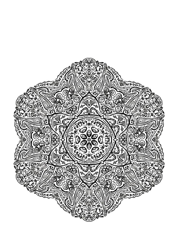 19 best Mandala Coloring Pages