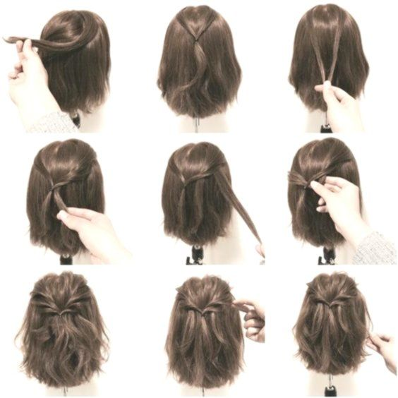 beautiful hairstyles for short hair - Trend Women