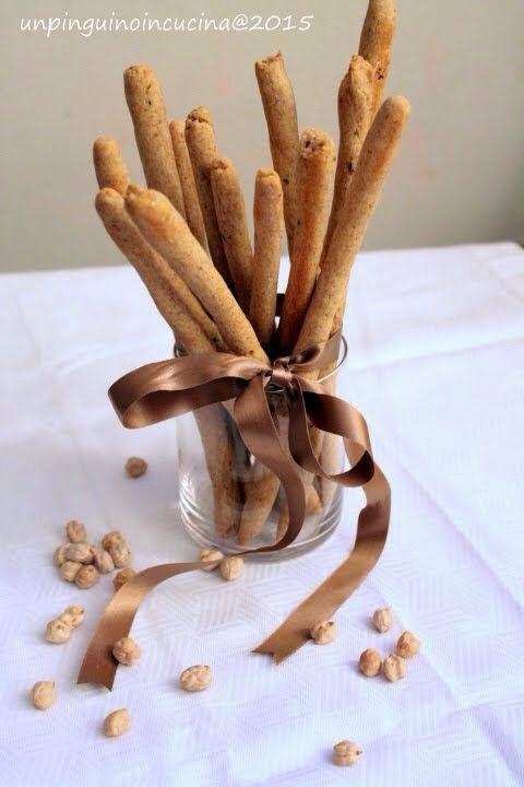 Chickpea-Flour Breadsticks - Grissini alla farina di ceci