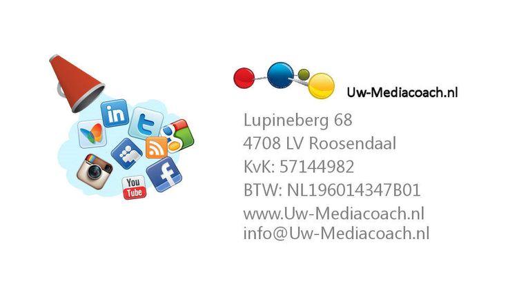 Nieuw Logo + Adres gegevens. Hyves vervangen door Instagram