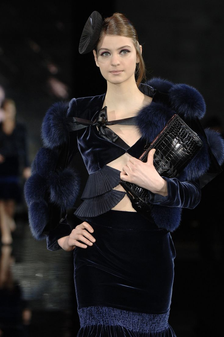 Giorgio Armani at Milan Fashion Week Fall 2006 - StyleBistro
