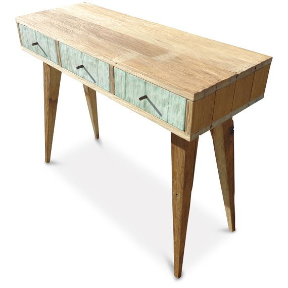 RETRO MINT EDITION  EcoFriendly Handmade Recycled Console por GHIFY, $1150.00