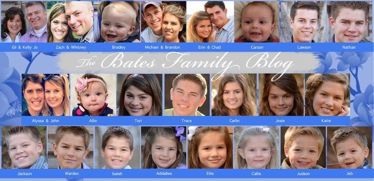The Bates Family Blog: Bates Family Updates and Pictures Gil and Kelly Bates Bringing Up Bates UP TV