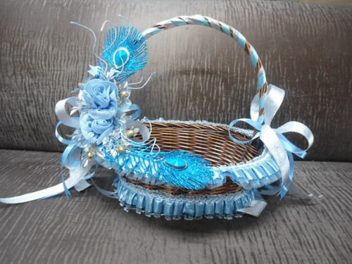 Wedding Gift Hampers India : ... from New Delhi, India DIY Decorative Baskets Pinterest De