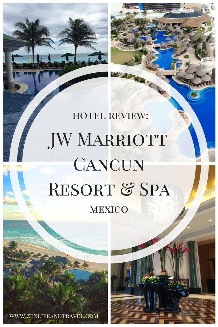 My review of the beautiful JW Marriott Cancun Resort & Spa in Mexico.