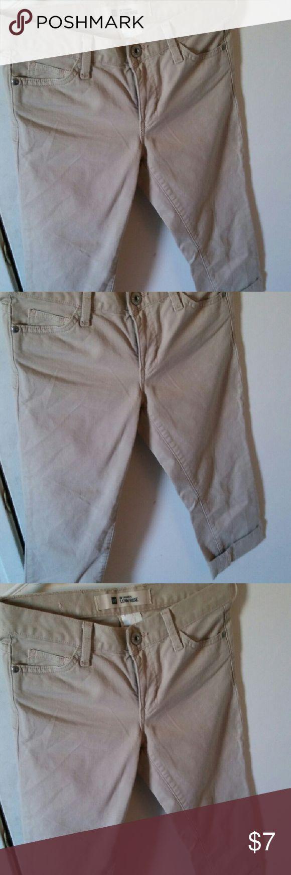 Gap crop low rise BEIGE Jeans Low rise  Crop Beige Size 2 R Gap Jeans Ankle & Cropped