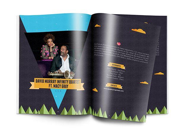Catálogo XIX Festival Jazz al Parque Concepto, diseño editorial, diagramación, ilustración, retoque fotográfico y desarrollo. Diseño de portada: Cristian Hernández. Trabajo realizado para el Instituto Distrital de las Artes IDARTES. Bogotá, 2014. Catálogo completo: http://issuu.com/idartes/docs/catalogo_jazz_al_parque_2014 #editorial #typography #design #graphicdesign #jazz #music