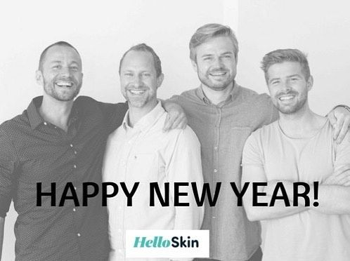 We would like to thank you for a great year and all your support in 2016!  Enjoy and see you in 2017 The HelloSkin Team