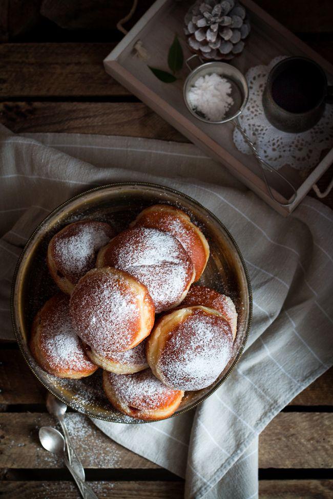 Sufganijot - pączki z Izraela, Israeli doughnuts #pączki #doughnuts