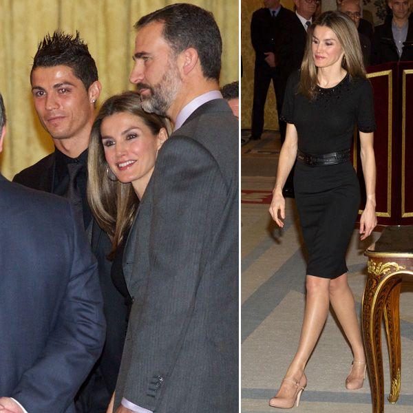 La Familia Real, una vez más con el deporte español #princess #letizia #cristiano #prince #casareal #realeza