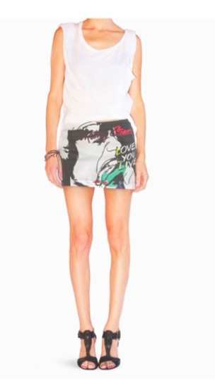Rolling Stones X Andy Warhol Mini Skirt