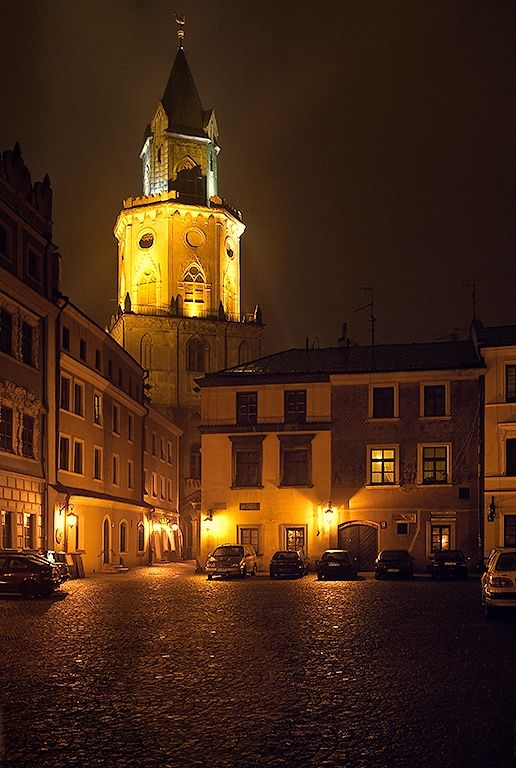 Trynitarska tower, Lublin, Poland.