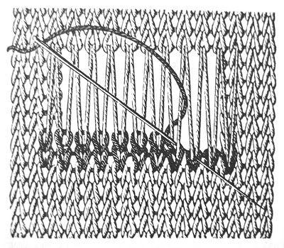 Sock repair--A T S W I M - T W O - B I R D S: landscape