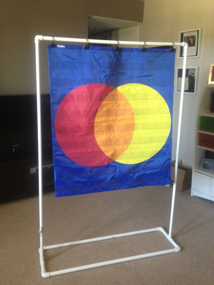Pocket Chart Stand for less than $15! Make your own stand using PVC pipe!  *There is no link to the original photo, because THIS is the original photo. I made this chart myself. -Meghan Hampton