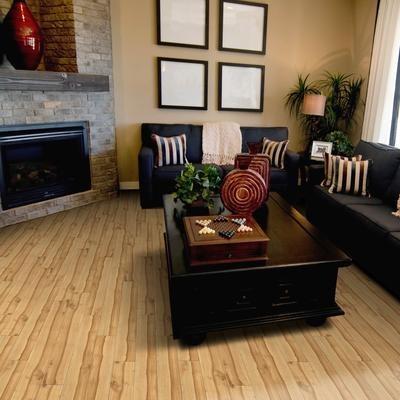 Stylecast Stylecast Laminate Flooring Latte Maple 12 3mm 765oscd125lam Home Depot Canada