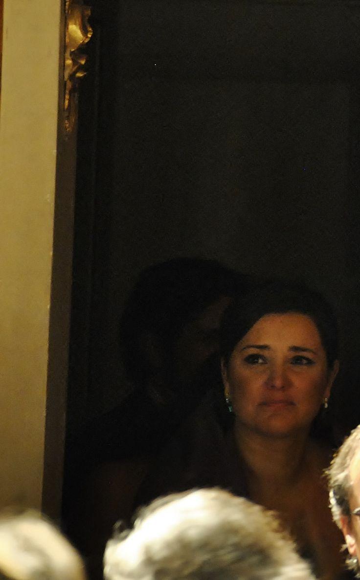 Virginia Tola emozionata durante l'esibizione di Raina Kabaivanska (foto Annalisa Andolina)
