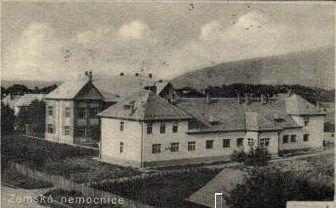Sevljus Provincial Hospital, Subcarpathian Ruthenia.
