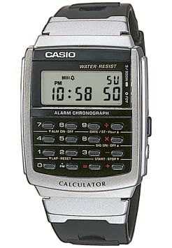 Casio - Digitaluhr - black/silver-coloured